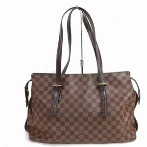 Authentic Louis Vuitton Tote Bag Chelsea Ebene